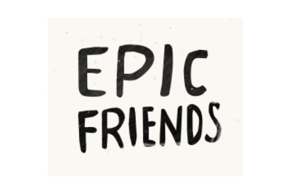 Epic friends logo