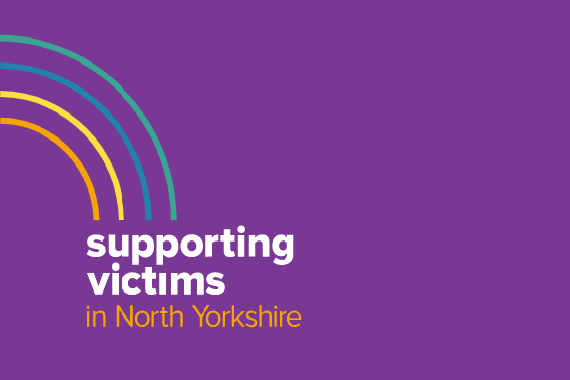 Supporting victims in North Yorkshire logo